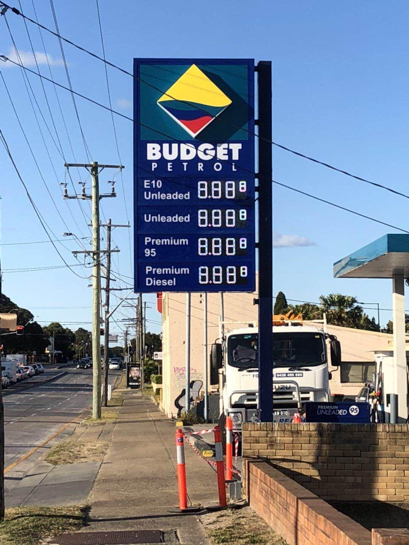 澳大利亚油价牌